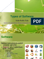 G-Types of Software