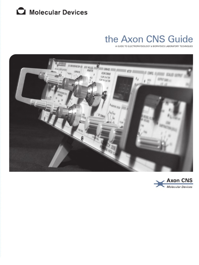 The Axon CNS Guide to Electrophysiology and Biophysics   Capacitor    Electricity