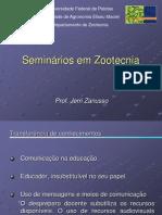 Seminários em zootecnia