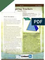 Inspiring Teachers - June 2013