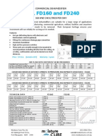 Fral FD160 and FD240 Spec Sheet