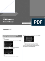 yamaha rx-v671 manual