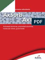 Adsorbents Brochure