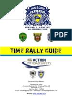 Time Rally Guide - Kejurnas Time Rally Kaltim 7-8 Juni 2013