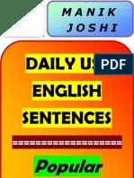 Daily Use English Sentense