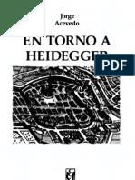 ACEVEDO, JORGE - En Torno a Heidegger [Por Ganz1912]