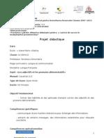 Plan Lectie Franceza