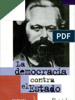 ABENSOUR, MIGUEL - La Democracia Contra El Estado [Por Ganz1912]