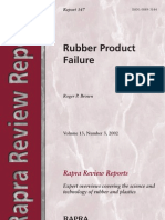 Rubber Product Failure-R, P Brown Rapra Review Reports 2002