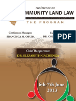 Community Land Law Programme