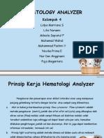 Hematology Analyzer Ppt