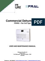 Fral FDW62 Manual