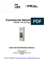 Fral FSW96 Manual