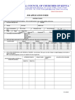 Job Application Form