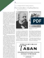 Manuel Fernández Caballero, por Francisco Soriano
