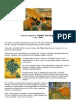 Pequena Biografia de Vincent Van Gogh