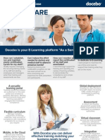 Business Case - Using E-Learning for Healthcare training