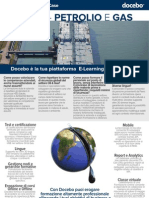 Business Case - Usare l'E-Learning per la formazione nel settore Energetico, Petrolifero e Gas