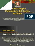 Plan Estrategico Participativo del Cantón Montúfar