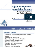 How to launch a project