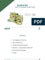 EcoGrid EU - A Prototype for European Smart Grids