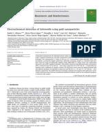 ElectroElectrochemicaldetectionof Salmonella using goldnanoparticles.chemicaldetectionof Salmonella Using Goldnanoparticles