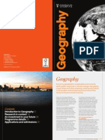 University of Liverpool Geography Department Guide 2011