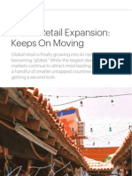 Global Retail Expansion Keeps on Moving