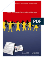 Report Journey Reduce Early Marriage October 2012