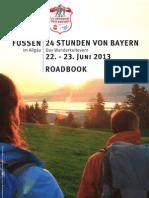 24h Roadbook Wanderkarte Zusammen