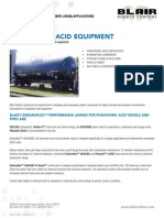 Phosphoric Acid Applications