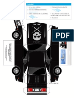 Deathproof Car Papercraft