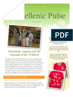 Panhellenic Pulse - May 2013