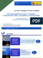 01 Ferre MINECO Estrategia y Plan Estatal 2013 PT Ferroviaria