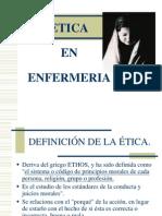 Etica en Enfermeria