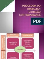 Psicologia, saúde (medicina) e trabalho