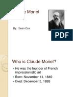 Claude Monet PPT