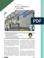 Genesis de la Biblioteca en el Peru