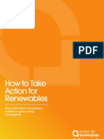 Action for Renewables Activist Pack