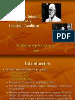 Entrevista Inicial Encuadre Contrato Analitico
