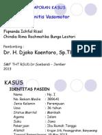 Lapsus Rhinitis Vasomotor