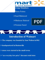Introduction of Walmart