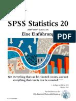 SPSS Statistics 20_Eine Einführung_German Angele Okt. 2012_2. Aufl._Uni Bamberg