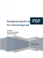 Reengineering the Market for Criminal Legal Aid