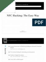 NFC Hacking made Easy - Eddie Lee