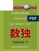 Sudoku World Be Book 5