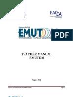 EMUTOM - Teacher Manual