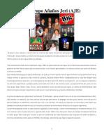 Historia del grupo Añaños Jeri