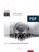 Evaluación y gestión de proyectos