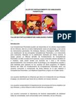 Manual de Taller de Fortalecimiento de Habilidades Parentales